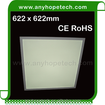 New Style 622 622mm 625 625mm 6000K 3886lm surface led panel light from professional led product factroy