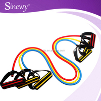 Wholesale custom resistant exercise bands With Golden Clip