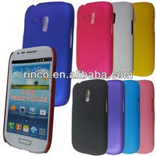 Rubber Hard Back Cover Case for Samsung Galaxy S3 SIII Mini i8190