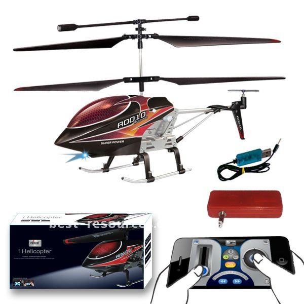 3.5ch remote control helicopter controled by iphone