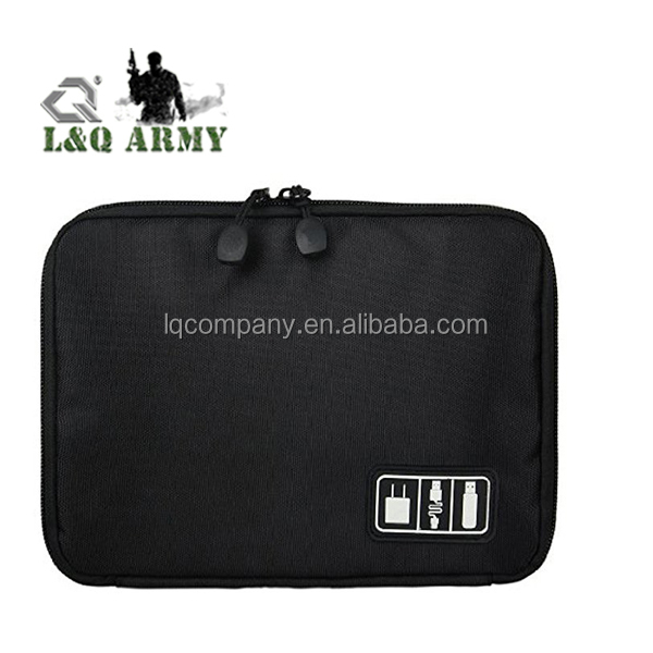 Data line Storage Bag Electronics Accessories Travel Bag Black