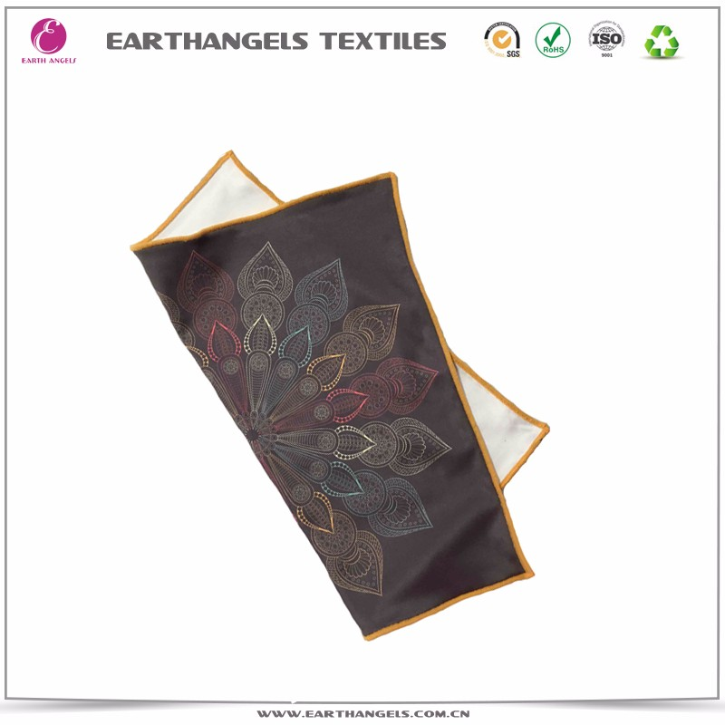 Custom logo printing Microfiber kerchief or cleaning cloth
