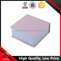 Series color printing small product packaging box with custom logo