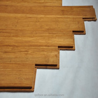 click lock solid bamboo flooring with CE