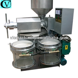 Cold pressed virgin coconut oil machine with 100-130kg/h
