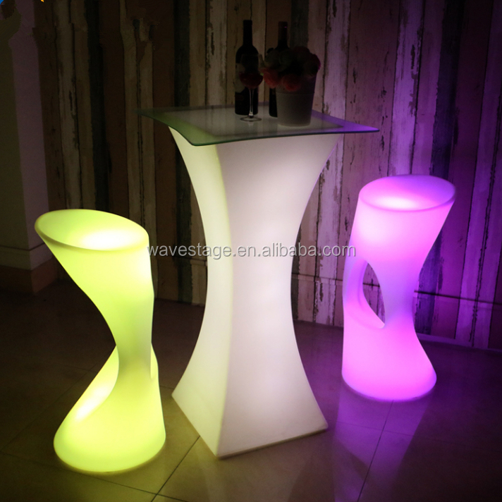 new design stand up bar tables led night club furniture bar school