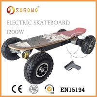 2015 Factory direct selling high power four wheel electric skateboard