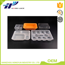 Disposable OEM Deisgn Plastic Egg Tray, Plastic Food Tray