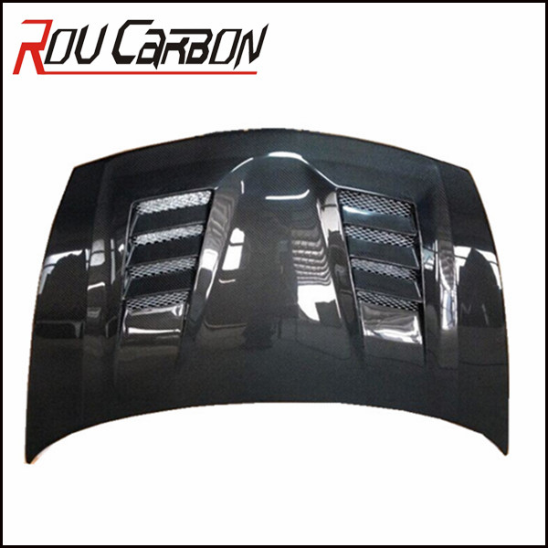 Best Price Carbon fiber auto parts for HondaCivic car bonnet vented hood