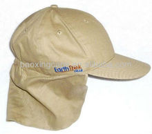 Ultraviolet Protection UPF 50+ outdoor flap back cap hat