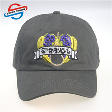 Hot Sale 100% Cotton Distressed Dad Hat With Embroidery Logo Custom Baseball Caps