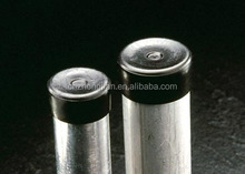 PVC round Stainless steel tube end caps