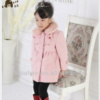 Valuable factory price Warmly beautiful girls kids wholesale winter clothes