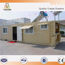 Movable container toilet design for Dubai