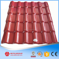 garden gazebo pavilion roof tile/ synthetic spanish roof tile