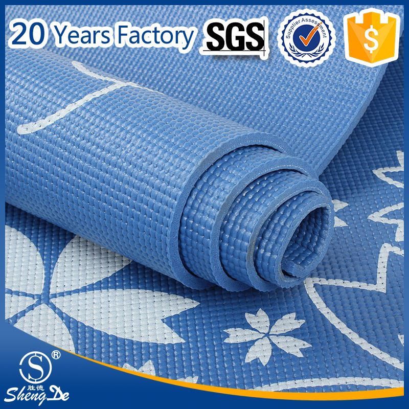 Customised Yoga Mat , Organic PVC Yoga Mat Print