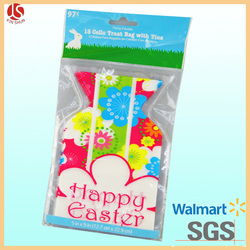 New fashion hot sale eco friendly cheap wholesale handmade egg decoration candy gift pink Easter bunny bags