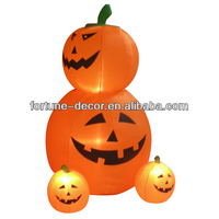 180cm Halloween inflatable pumpkins with movement