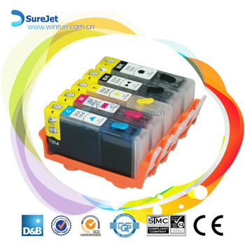 Refill ink cartridge for HP364/564/178/862 refillable cartridge with ARC chip