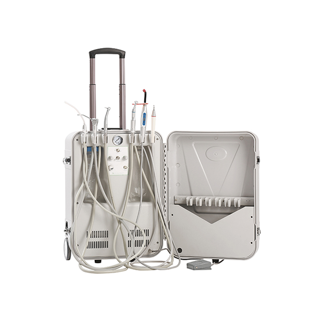 Cheap Self-Contained Electrical Mobile Portable Dental Unit Dental Delivery Unit With Air Compressor