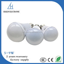 High Power SMD Energy Saving E27 9W LED Bulb Light Parts for Indoor