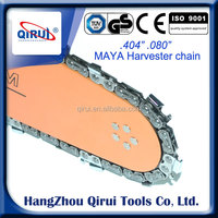 "Top quality .404"" .080"" Harvester Saw Chains for Big Harvester Machines"