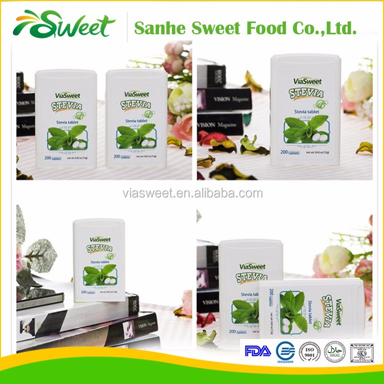 EU standard sweetener stevia tables with high quality