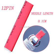 New Permanent Makeup Manual Tattoo Microneedle Blading Needle For Eyebrow/Lip