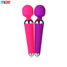 Home Use Noiseless 10 Speeds Vibration Full Waterproof Japan Adult Sex Wand Massager Toy