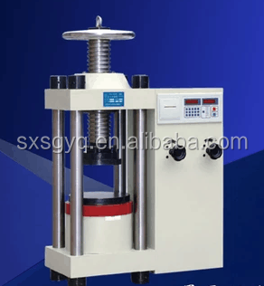 DYE-3000 cheap price of digital display hydrostatic manual concrete compression testing machines