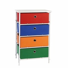 Kids Sort & Store 4-Bin Organizer, Boys