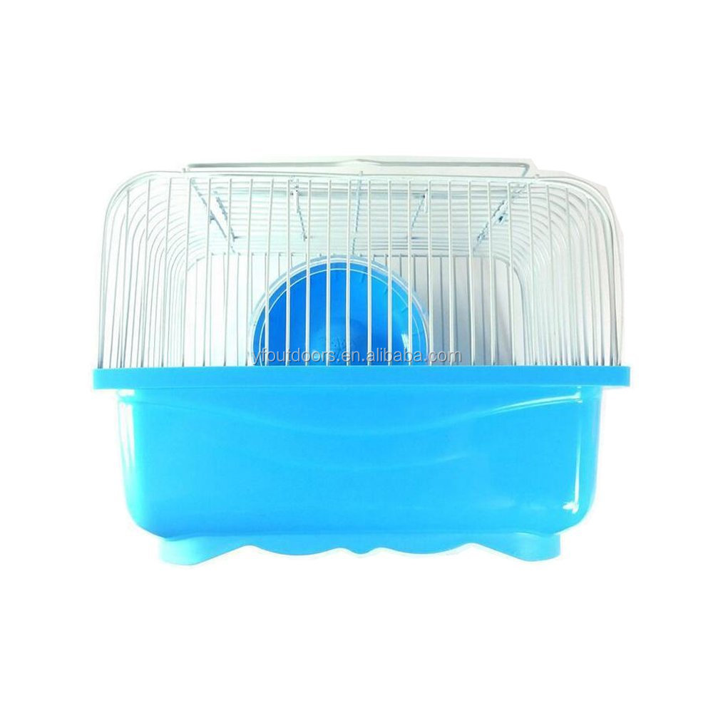 Small animal pet cage, custom plastic hamster trap cage