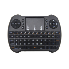 Mini Wireless Keyboard 2.4G Mouse Keyboard with Touchpad Handheld Keyboard for PC Android TV Removable battery