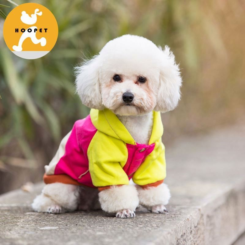 Multi-color hoodie pet dog clothes winter supplies