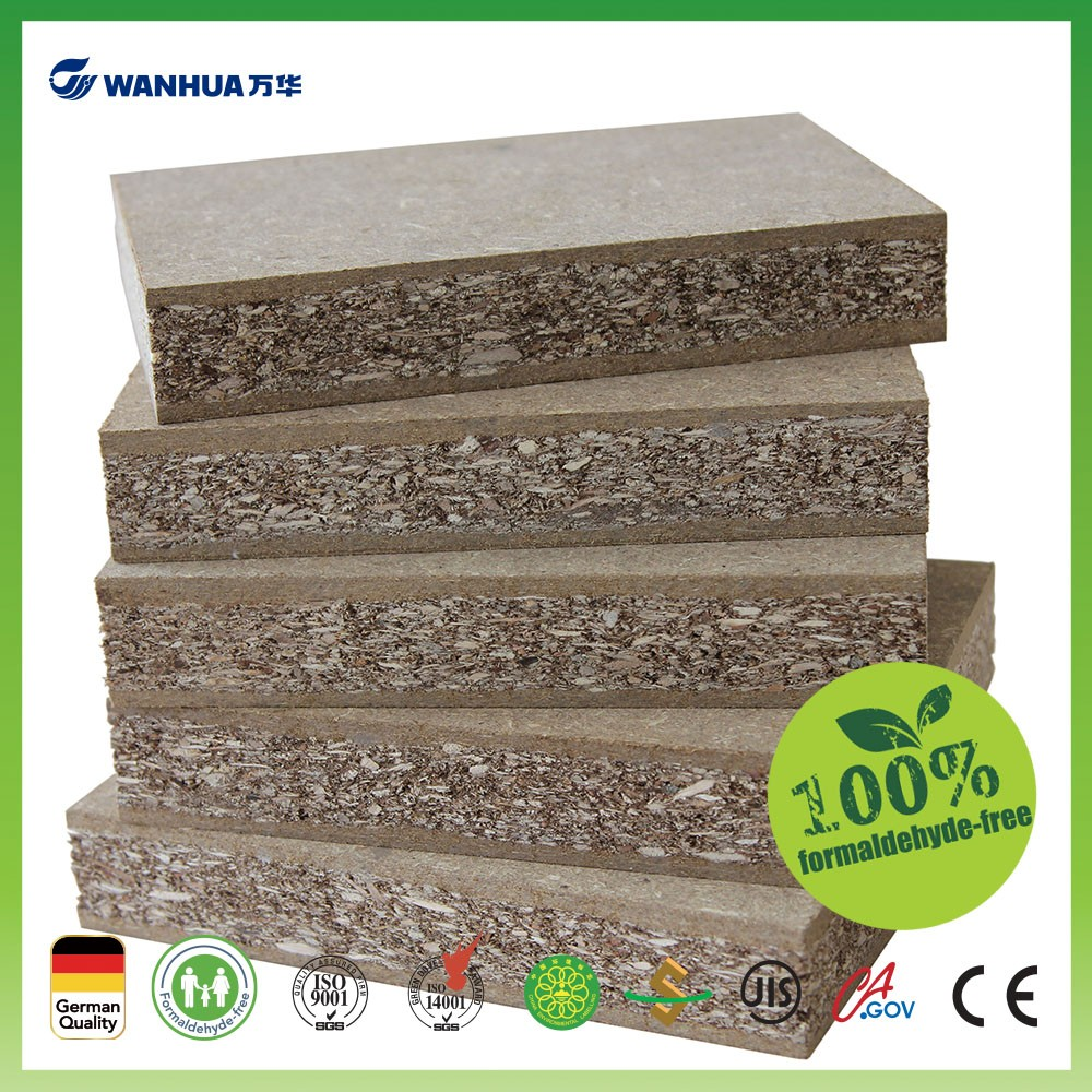 No formaldehyde 40mm low density fiberboard for door making