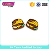 DIY Enamel Shoes Accessories Hamburger Charm