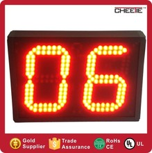 Large 2 Digit 6 Inch Coutndown Timer Traffic Countdown Timer Light