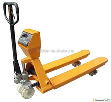 Hydraulic Pallet Jack with Weighing Scale