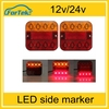CE approved Competitive quality!8 led truck light truck led trailer tail light