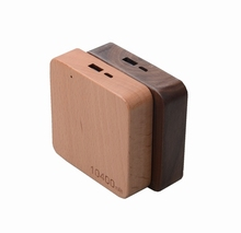 AWC911 10400mah Wooden power bank 10200 power bank online sale wood charger made in china