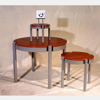 Fashion coffee shop display table