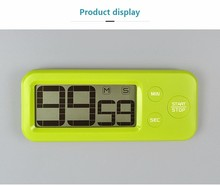 Hot sell digital kitchen timer led electric 60 Minute countdown timer clock with memory