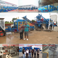 block machine QT10-25/QT10-15 concrete block making machine sell well in Iraq,Congo and south africa