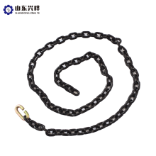 High quality black alloy steel load chain Grade 80 marine chain