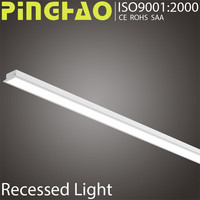 Embeded crystal CE fluorescent lighting fixtures