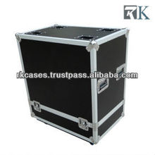 Speaker hard cases - RKsysy15 is Full ATA touring spec flight case with two being braked