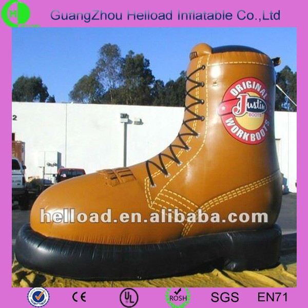 giant inflatatble shoes inflatable boot for advertising