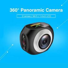 China Factory HD 4K 360 Degree Panoramic Action Camera with Wifi for Android Phone iPhone