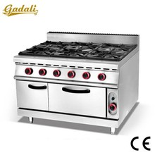 Guangzhou 6 burners cooking gas stove, gas stove brands, kitchen gas stove size