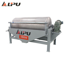 High Gauss Permanet Wet Sand Iron Ore Dry Magnetic Separator